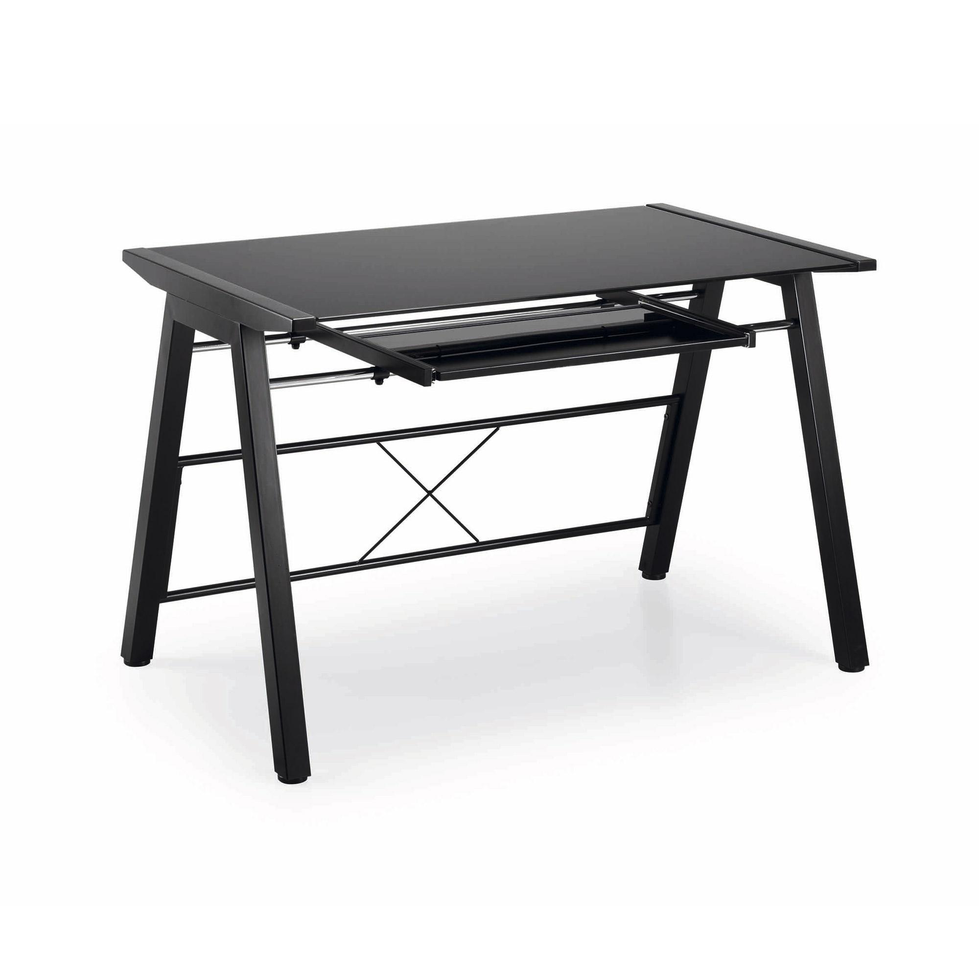 Mesa de escritorio negra moderna medan no disponible en - Mesa escritorio negra ...