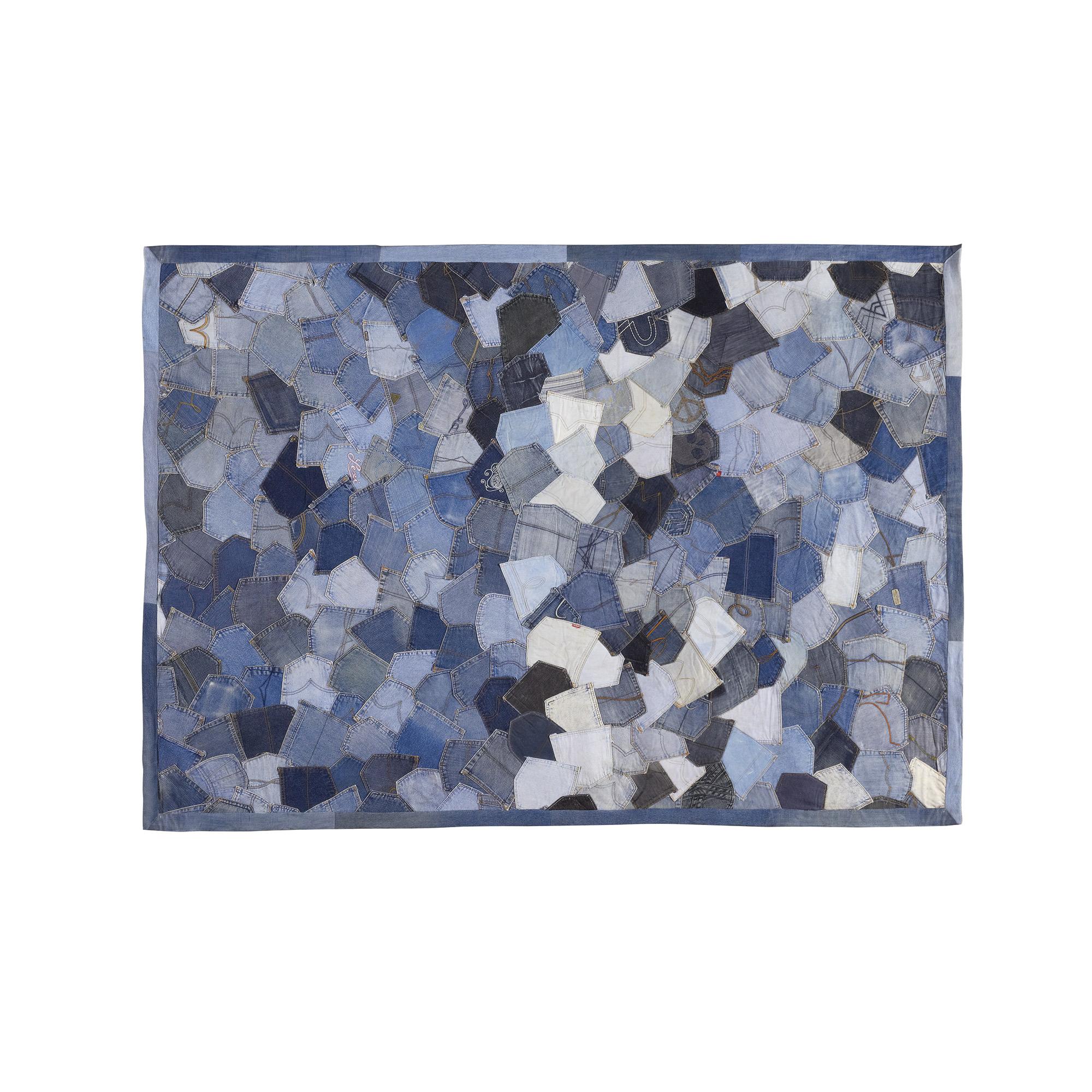 Alfombra patchwork tejano zenda no disponible en - Alfombra patchwork ...