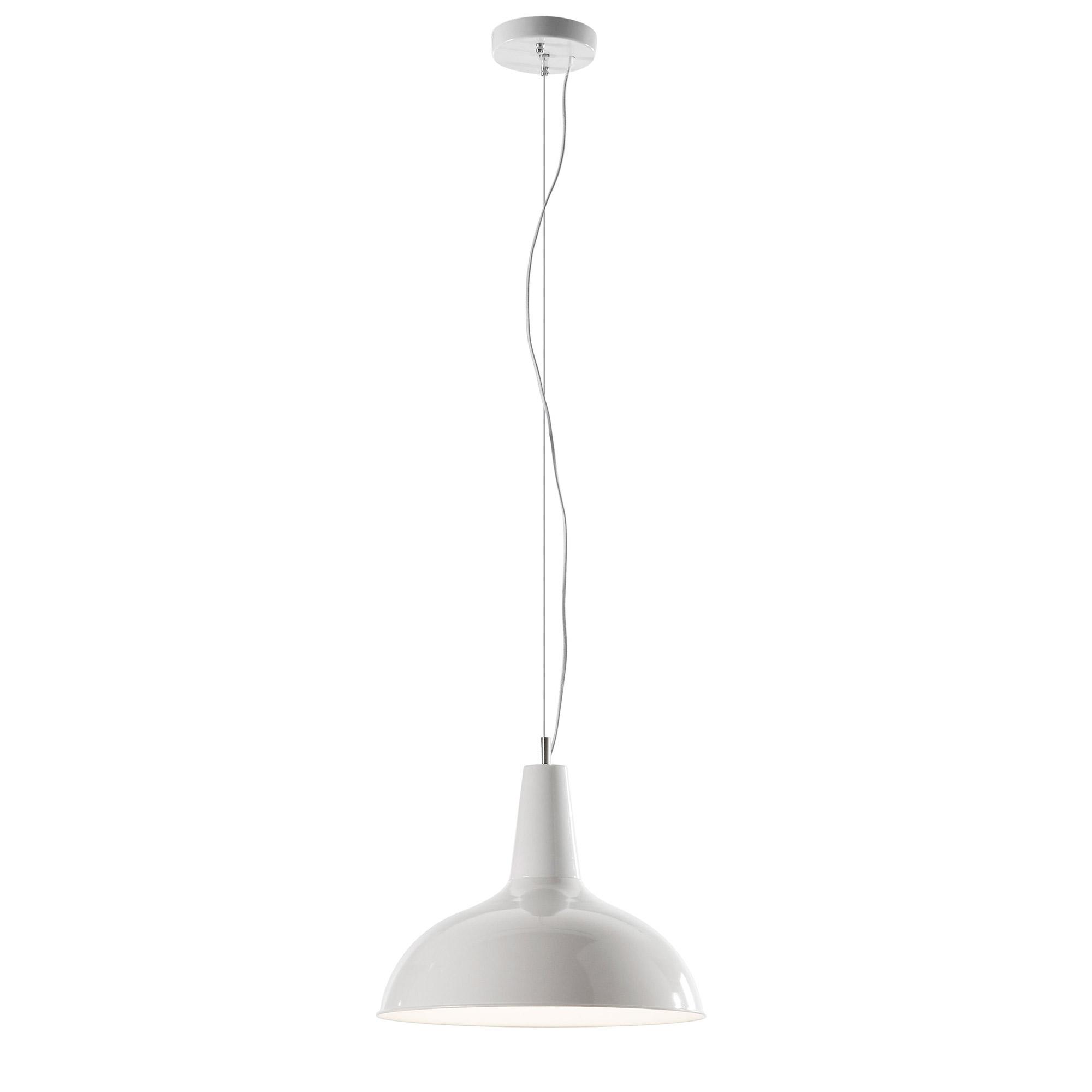 Lámpara de techo Darla R33 metal blanco