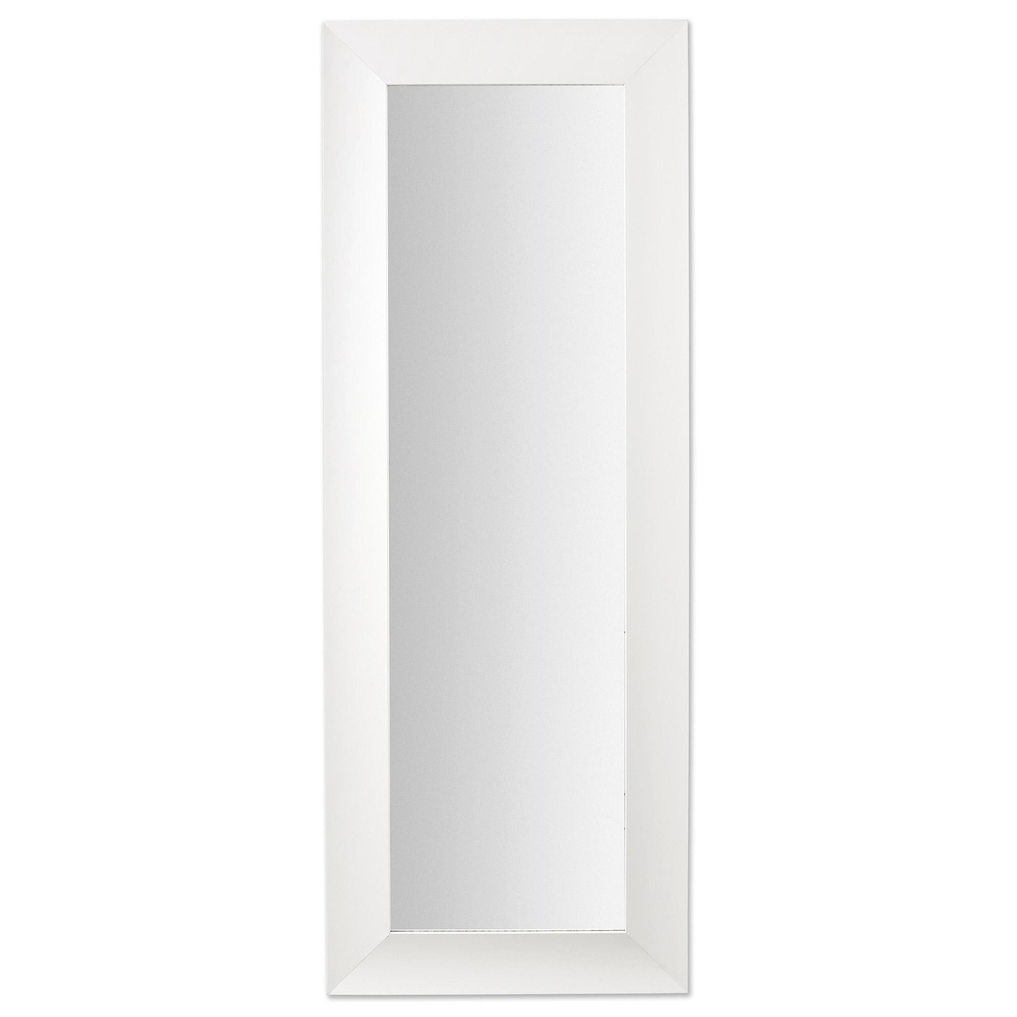 Espejo Misty en madera blanca