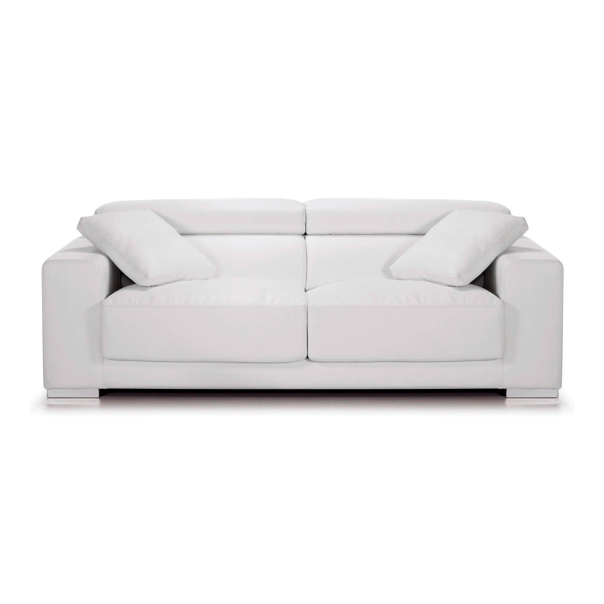 singapore sofa 3p recl desliz eco piel blanco puro ep05 no. Black Bedroom Furniture Sets. Home Design Ideas