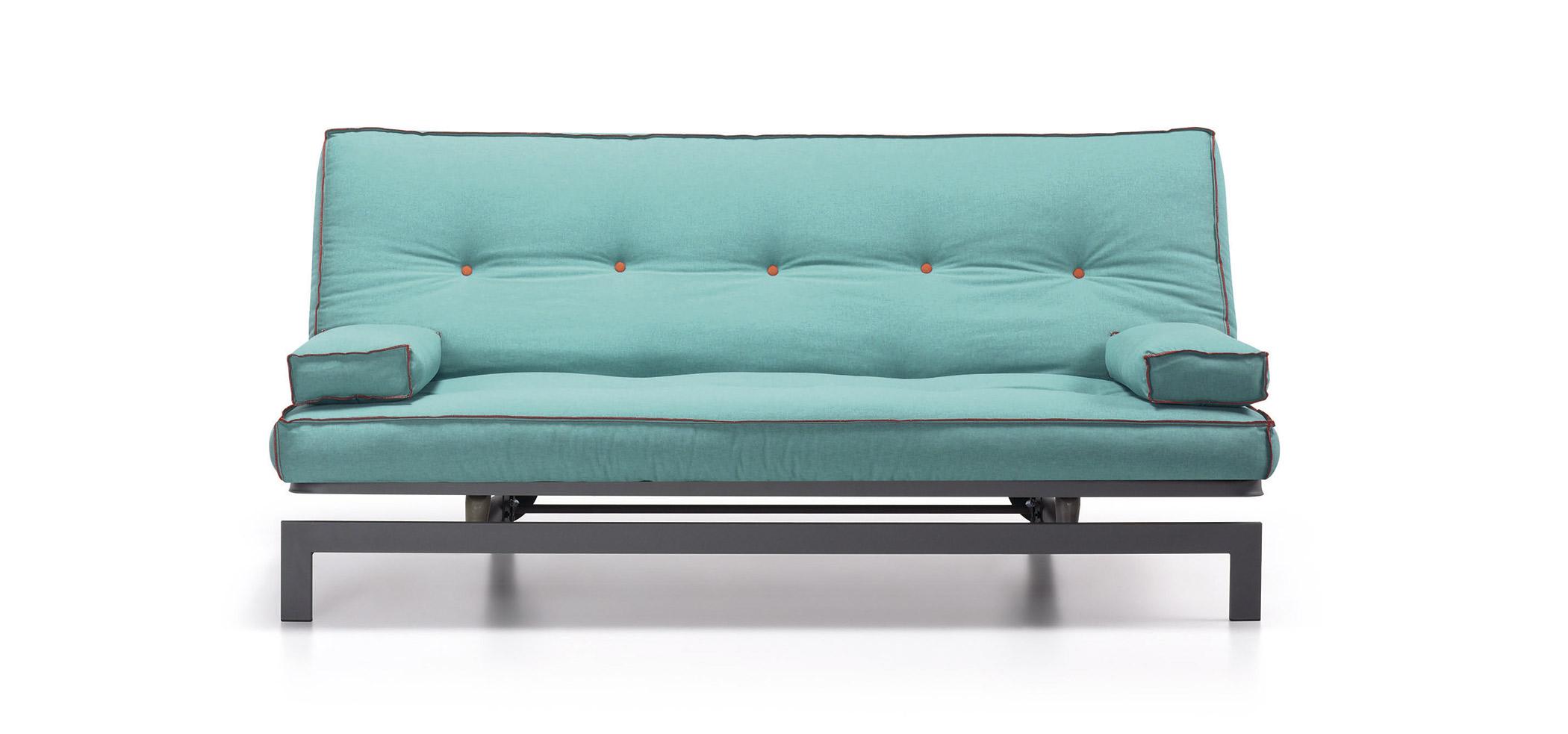 Sof cama turquesa moderno gio no disponible en for Sofa cama turquesa